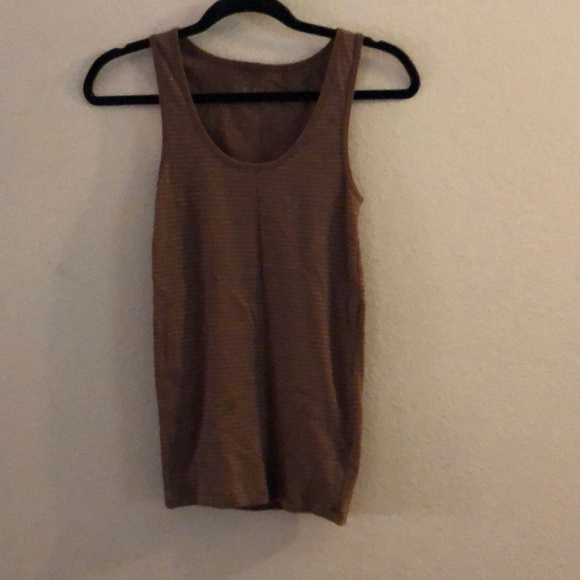 Arizona Jean Company Tops - Bundle 2/$12 Cute brown and gold tank top